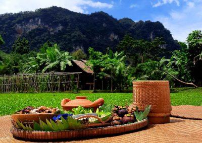 Lunch at Khao Sok Jungle Life Camp