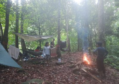 camping in khao sok national park
