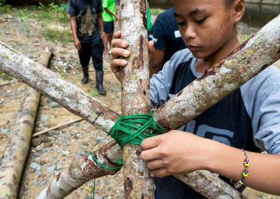knot making survival camp