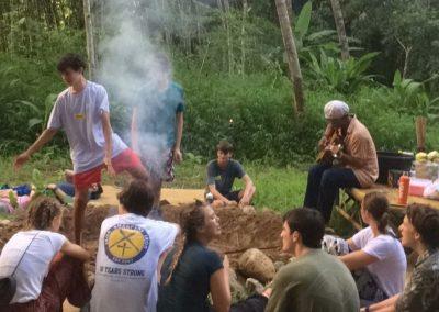 Camp Fire Jungle Life Camp